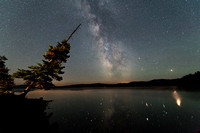 Milky Way over Cupsuptic Lake