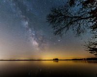 Milky Way Over Sebago