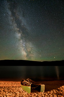 Milky Way over Nahmakanta Lake